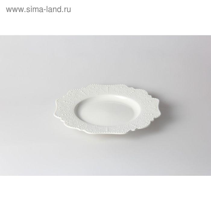 Тарелка десертная Vivien, 21 см, фарфор