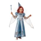 Карнавальный костюм «Сказочная фея», бархат, размер 36, рост 140 см, цвет голубой