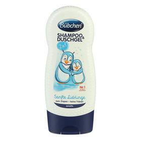 """Шампунь для мытья волос и тела Bubchen """"Ласковый и нежный"""" для детей с чувствительной кожей,"""