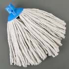 Насадка для швабры верёвочная, х/б, 140 гр, цвет МИКС - фото 1712589