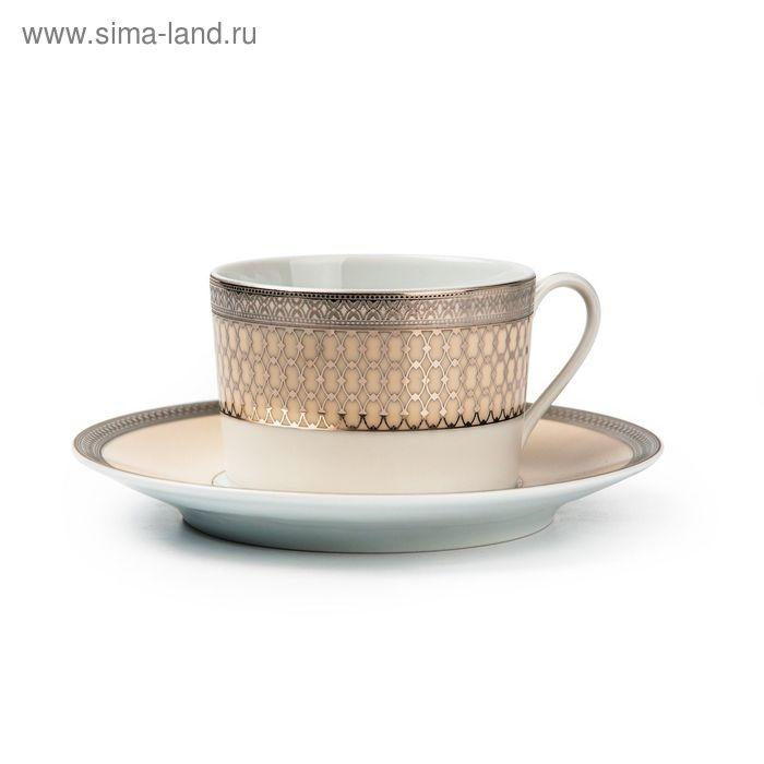 Набор чайных пар Victoir Platine, 220 мл, 6 шт.