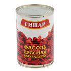 """Фасоль """"Гипар"""" красная натуральная ГОСТ Р банка №46 400г"""