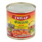 """Фасоль """"Гипар"""" белая в томатном соусе ГОСТ Р евробанка №46 400г"""