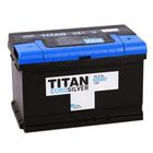 Аккумуляторная батарея Titan Euro Silver 74 Ач, обратная полярность, низкий