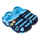 Сланцы пляжные детские арт. CR1641, цвет синий, размер 32