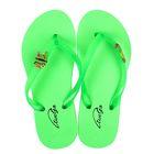 Пантолеты пляжные детские арт. BCF50211 (зеленый) (р. 33)