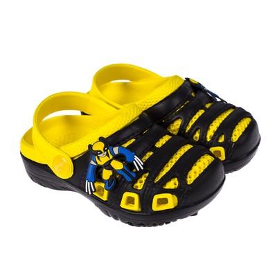 Сланцы пляжные детские арт. BR1631, цвет чёрный/желтый, размер 28