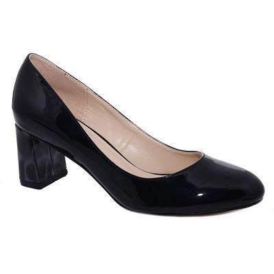 Туфли женские , цвет чёрный, размер 37