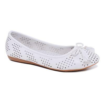 Туфли для школьников девочек SC-21441 (белый) (р. 36)