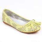 Туфли для школьников девочек SC-21442 (желтый) (р. 33)