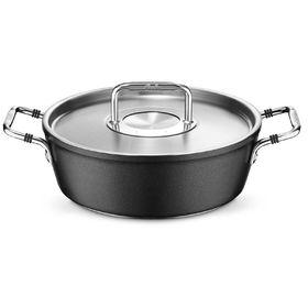Жаровня круглая Fissler Luno, с металлической крышкой, 28 см, 4,3 л