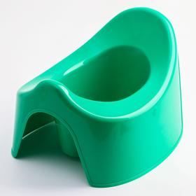 Горшок детский, цвет зелёный Ош
