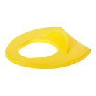 Детская накладка на унитаз, цвет жёлтый