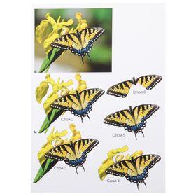"""Папертоль """"Бабочка жёлтая"""" - фото 7456010"""
