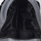 Рюкзак туристический, 2 отдела на молниях, 3 наружных кармана, цвет серый