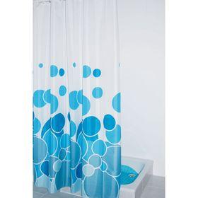 Штора для ванных комнат Kani, цвет синий