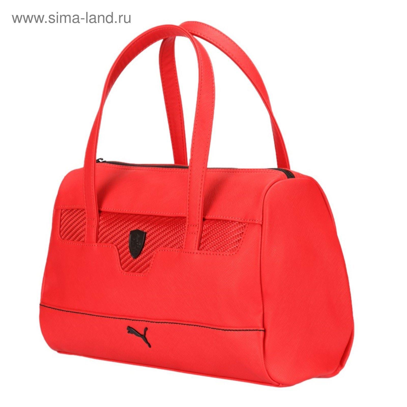 919de27e Сумка женская PUMA Ferrari LS Handbag, красный (2350323) - Купить по ...