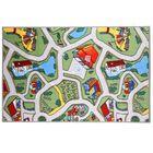 Палас велюр Лунапарк, размер 200х300 см, цвет зелёный, полиамид