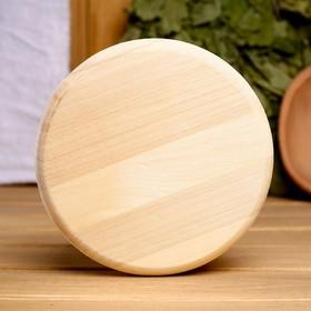 Вентиляционный клапан из липы, D=10см, основание дерево Ош