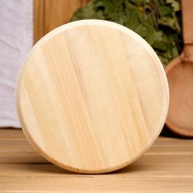 Вентиляционный клапан из липы, D=12,5см, основание дерево Ош