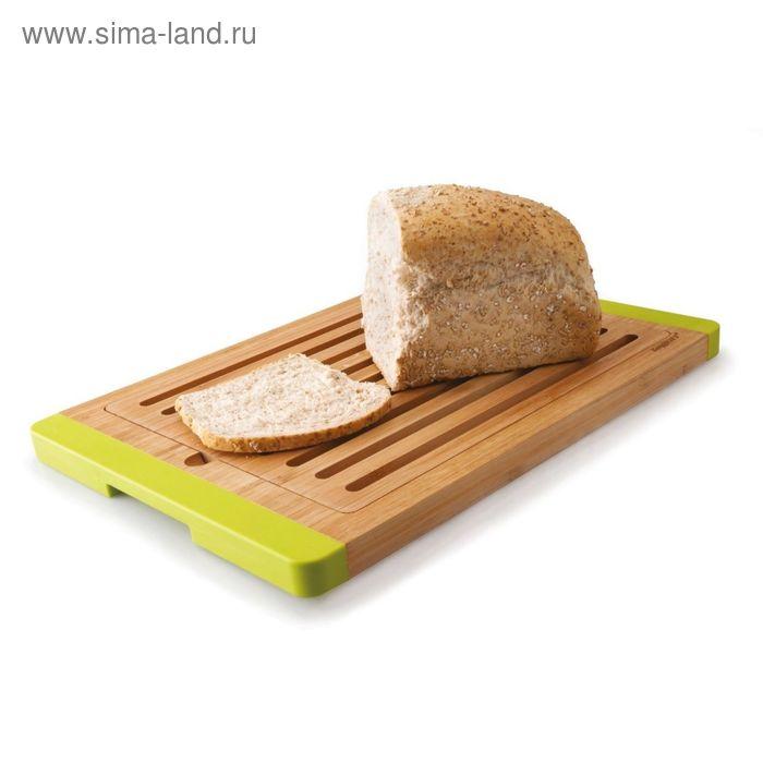 Доска разделочная Studio, бамбуковая, для хлеба, разборная, 38 х 27 х 2 см