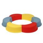 Песочница пластиковая «Ромашка», 147 × 147 × 18 см, цвет МИКС