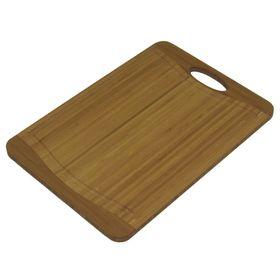Кухонная доска Flutto, бамбук, размер 29 х 20 см