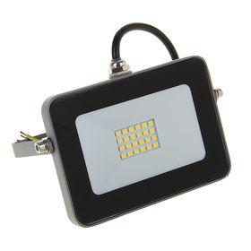 Прожектор светодиодный Ecola, 10 Вт, 220 В, 4200 K, IP65, Серебристо-серый 115x80x14 Ош