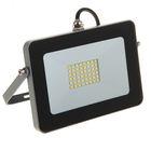 Прожектор светодиодный Ecola, 20 Вт, 220 В, 4200 K, IP65, Серебристо-серый 146x102x17