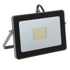 Прожектор светодиодный Ecola, 30 Вт, 220 В, 2800 K, IP65, Серебристо-серый 188x132x17