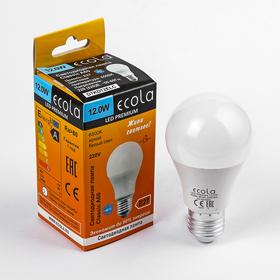Лампа светодиодная Ecola Premium, 12 Вт, A60 220-240 В, E27  6500 K (композит) 110x60