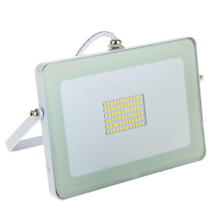 Прожектор светодиодный Ecola, 30 Вт, 4200 K, IP65, 188 x 132 x 17 мм, белый