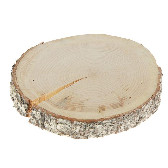 Спил кедра, шлифованный с одной стороны, диаметр 25-30см, толщина 2-3 см