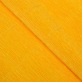 """Бумага гофрированная, 17E/5 """"Цветочно-жёлтая"""" , 0,5 х 2,5 м"""