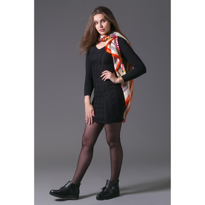 Платье женское 2064, цвет чёрный, р-р 44, рост 168-170