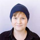 """Шапка для юношей """"М-140"""" демисезонная, размер 52-54, цвет темно-синий (арт. 807812)"""