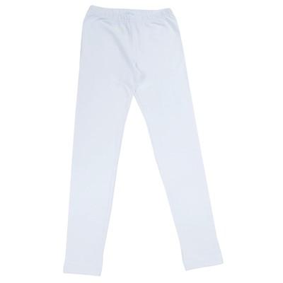 Легинсы для девочки, рост 146 см, цвет белый 170137