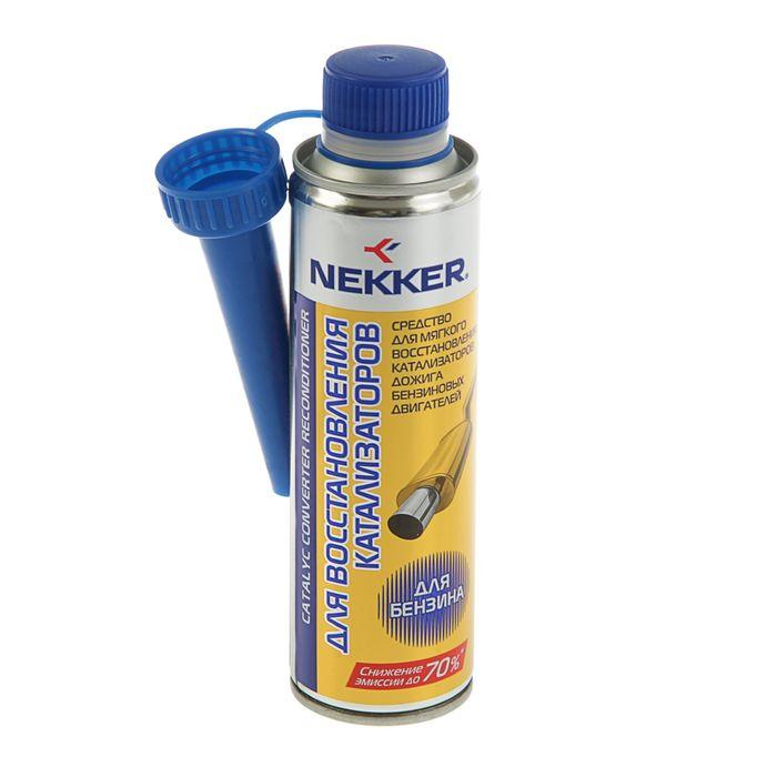 Средство для восстановления катализаторов дожига Nekker бензин, 250 мл, банка,