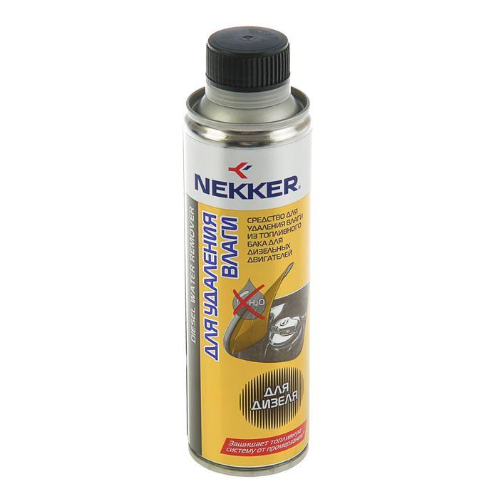 Средство для удаления влаги из топливного бака для дизельных двигателей Nekker, 250 мл, банка