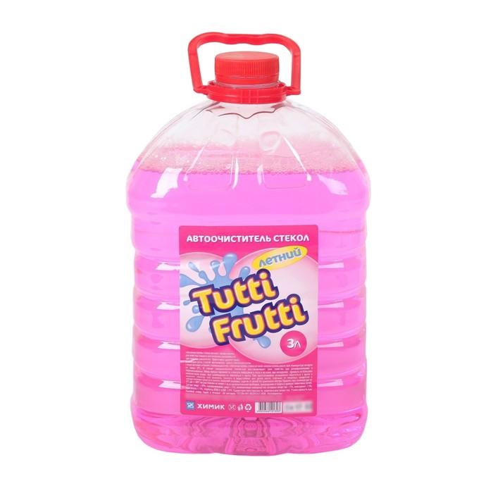 Автоочиститель стекол Hubba Bubba / Tutti Frutti , летний, 3 л, канистра