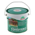 Состав защитно-декоративный для древесины Тонотекс Krona, бесцветный, 3 л