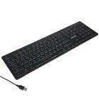 Клавиатура проводная Smartbuy ONE 305, USB, с подсветкой, черная