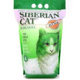Наполнитель силикагелевый Сибирская кошка 'Элитный ЭКО' для кошек, 4л Ош
