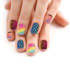 Слайдер-дизайн для ногтей «Опасный леопард»