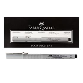 Capillary pen for drawing and drawing Faber-Castell liner Ecco Pigment 0.4 mm, pigment, black 166499