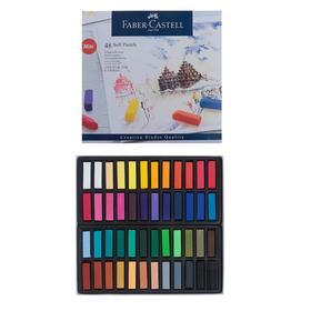 Пастель сухая художественная Soft Faber-Castell GOFA мини 48 цветов 128248