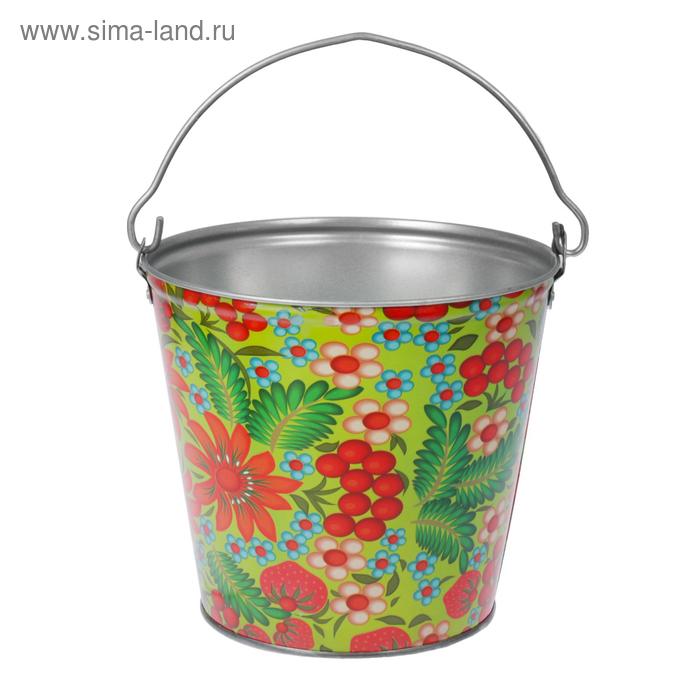 Ведро декоративное 9 л, МИКС