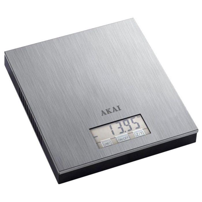 Весы кухонные Akai SK-1450 X, электронные, до 3 кг, серый