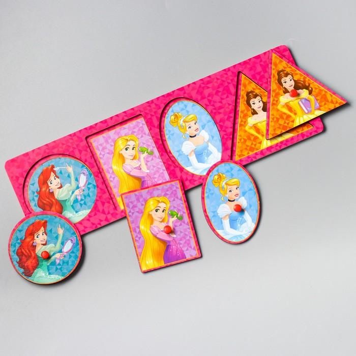 """Рамка-вкладыш малая """"Самой милой"""" Принцессы, 4 элемента - фото 105593242"""