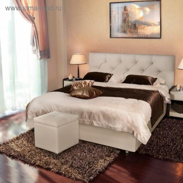 Кровать Askona MARLENA 200 х 140 кожзам Экотекс 109